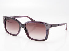 Lanvin New Sunglasses 100% UVA SLN 504-J89 Marble Plum & Plum Gradient Designer