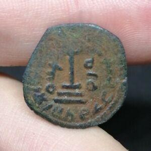 Arab Byzantine Unidentified Bronze Coin 18 mm (16)