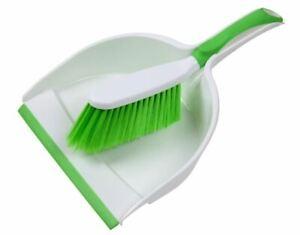 Deluxe Plastic Soft Grip Dustpan & Brush Set