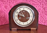 Vintage 'Smiths Enfield' 8-Day Striking Mantel Clock