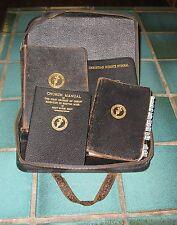 Rare 1930's Christian Science Original 4 Book Leather Bound Set Mary Baker Eddy