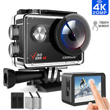 Campark V30 Native 4K Action Camera 20MP EIS Touch Screen WiFi Waterproof Cam US