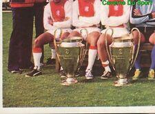 021 TEAM EQUIPE AJAX NETHERLAND VIGNETTE STICKER FOOTBALL 1980 BENJAMIN RARE NEW