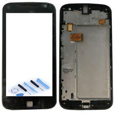 Display LCD Komplett mit Rahmen für Motorola Moto G4 Plus 2016 XT1642 Schwarz