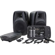 GEMINI ES 210 MX BLU impianto audio completo bluetooth per karaoke animazione ec