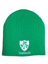 Ireland Rugby Green Beanie Hat