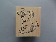 PEDDLER'S PACK RUBBER STAMPS DOG NAMED SPOT NEW wood  STAMP