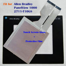 for Allen Bradley PanelView 1000 2711-T10G8 Touch Screen Panel + Protective Film
