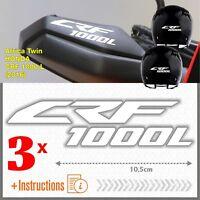 3x CRF 1000 L Bianco Africa Twin HONDA 2016 ADESIVI CRF1000 L CRF1000L moto