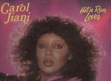 CAROL JIANI disco LP 33 giri HIT IN RUN LOVER 1981 made in CANADA