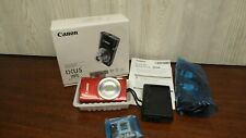 Canon PowerShot IXUS 185 20 MP Compact Digital Camera Red