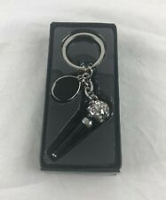 Microphone with Jewels Key Chain Lot of 6