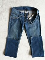 Womens PEPE JEANS Venus Low waist Slim fit Stretch Denim Long Size W28 L34 UK 8