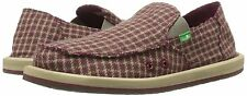 SANUK MEN'S DONNY SIDEWALK SURFERS BROWN HOUND SIZE 13 NIB $60 LIST