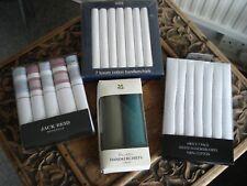 Four Boxes of Mens New Handkerchiefs - Original Boxes M&S, Jack Reid, Nat.Trust