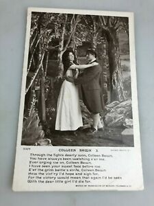 VINTAGE POSTCARD B & W - COLLEEN BAWN - NOT USED