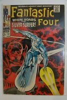 Fantastic Four #72, Silver Surfer!, CBCS (not CGC) Raw Grade 5.5 (FN-) SHIPS FRE