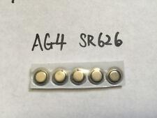 5x AG4 SR626SW LR626 LR66 377 Alkaline SR66 377A SR626 battery batteries