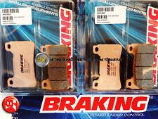 POUR HONDA CBR RR - ABS 600 2012 12 PLAQUETTES DE FREIN AVANT Sintérisés BRAKING