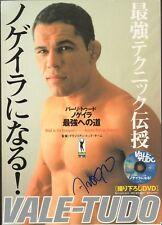Antonio Rodrigo Nogueira Signed Vale Tudo Japan Magazine BAS COA UFC Pride FC