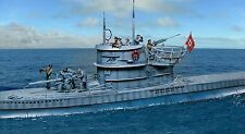 THE COLLECTORS SHOWCASE WW2 GERMAN U-96 COMPLETE SUBMARINE SET MIB