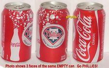 2008 COCA-COLA COKE PHILADELPHIA PHILLIES BASEBALL WORLD SERIES SPORT SODA CAN