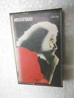 GEORGES MOUSTAKI  polydor   RARE CASSETTE TAPE