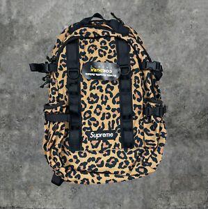 Supreme FW20 Leopard Box Backpack