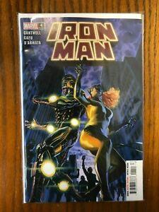 Iron Man 4 NM main 4A Alex Ross cover Marvel 2020