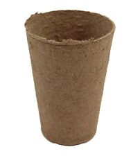 Jiffy 3 Inch Round Deep Peat Pots Seed Starting Biodegradable #132 Case Qty 1080