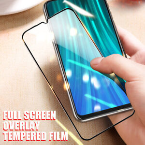 Full Coverage Protective Glass for Xiaomi Redmi Note 9T 9C 9A K40 Note 10 11 Pro