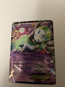 Pokémon Meloetta EX RC11/RC25 Ultra Rare Black & white Radiant Collection NM