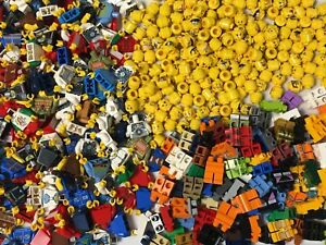 Lego Bulk Lot of 50 Grab Bag Minifigures Town City & More Free US Shipping