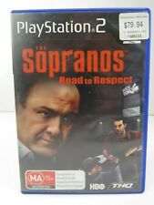 The Sopranos - Road To Respect - Playstation 2 Game  inc Box & Manual - PS2