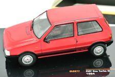 MODELLINO AUTO FIAT UNO 1 TURBO IXO SCALA 1/43 DIECAST CAR MODEL MINIATURE COCHE