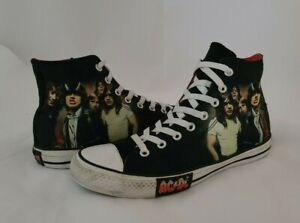 ⚡ AC/DC Converse All Star Chuck Taylor Men's Size 10 ACDC sneakers