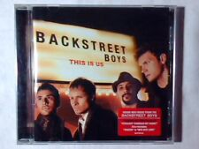 BACKSTREET BOYS This is us cd COME NUOVO LIKE NEW!!!