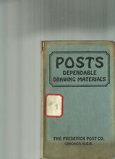 1930 Frederick Post Catalog Drafting Tools Instruments
