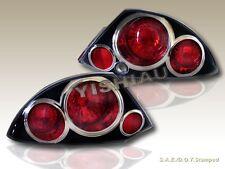 2000-2002 Mitsubishi Eclipse Altezza Tail Lights Black G2