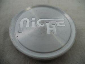 Niche Wheels Silver Custom Wheel Center Cap Set 1 # 1003-22 / CAP M-773