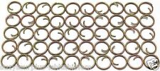 Small Mil Spec 7/16in 13mm Zinc Button Rings fasteners No Sew lot of 50 B115