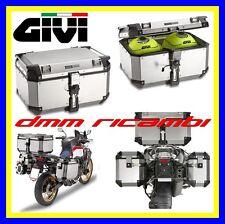 Bauletto Monokey GIVI TREKKER OUTBACK OBKN58 58 litri in Top-Case alluminio