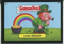 Garbage Pail Kids Mini Cards 2013 Black Parallel Base Card 127b Lepre SHAUN