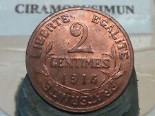 CIRA(53)(16) - 2 CENTIMES - DUPUIS - 1914 - RARE QUALITE SUP+ !