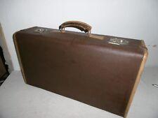 alter Koffer-DEKO - Reisekoffer- Lederimitation- um 1950