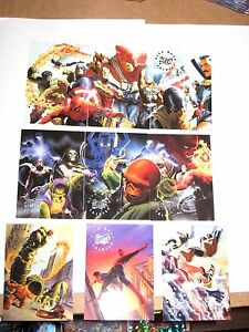 1998 Marvel Silver Age Alex Ross Salutes SILVER AGE CHASE INSERT CARD SINGLE!