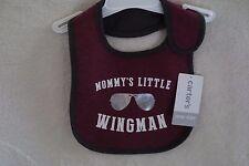 Carter's Baby Boy Bib One Size Mommy's Little WingMan New
