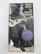 ROBERT JOHNSON- THE COMPLETE RECORDINGS BOXSET ROOTS N BLUES Audio Cassette