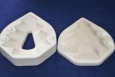 Vintage Ceramic Pottery Slip Casting Mold - Duncan 1967 Xmas Tree Tray