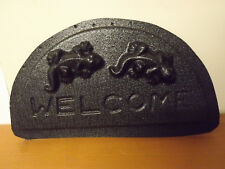 2 Gecko 'WELCOME' Plaque Mould ..... MOULDS 4 YOU ..... #2GWP928